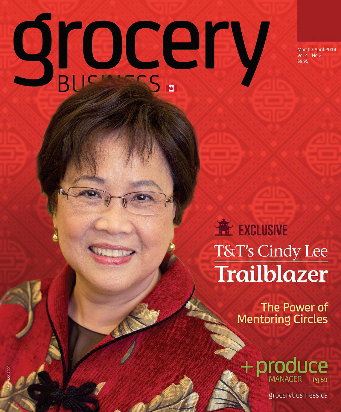 Cindy Lee of T+T Supermarket for Grocery Business Magazine
