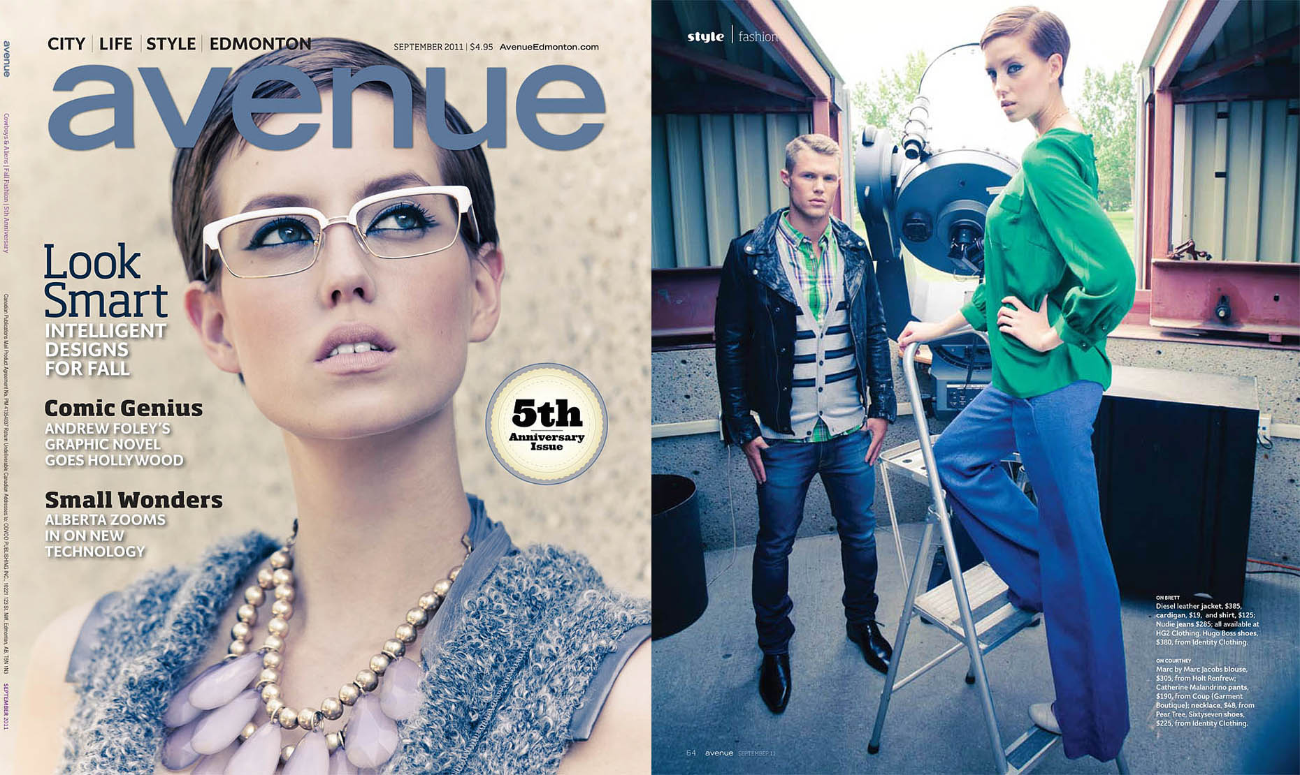 Avenue Fall Fashion Issue