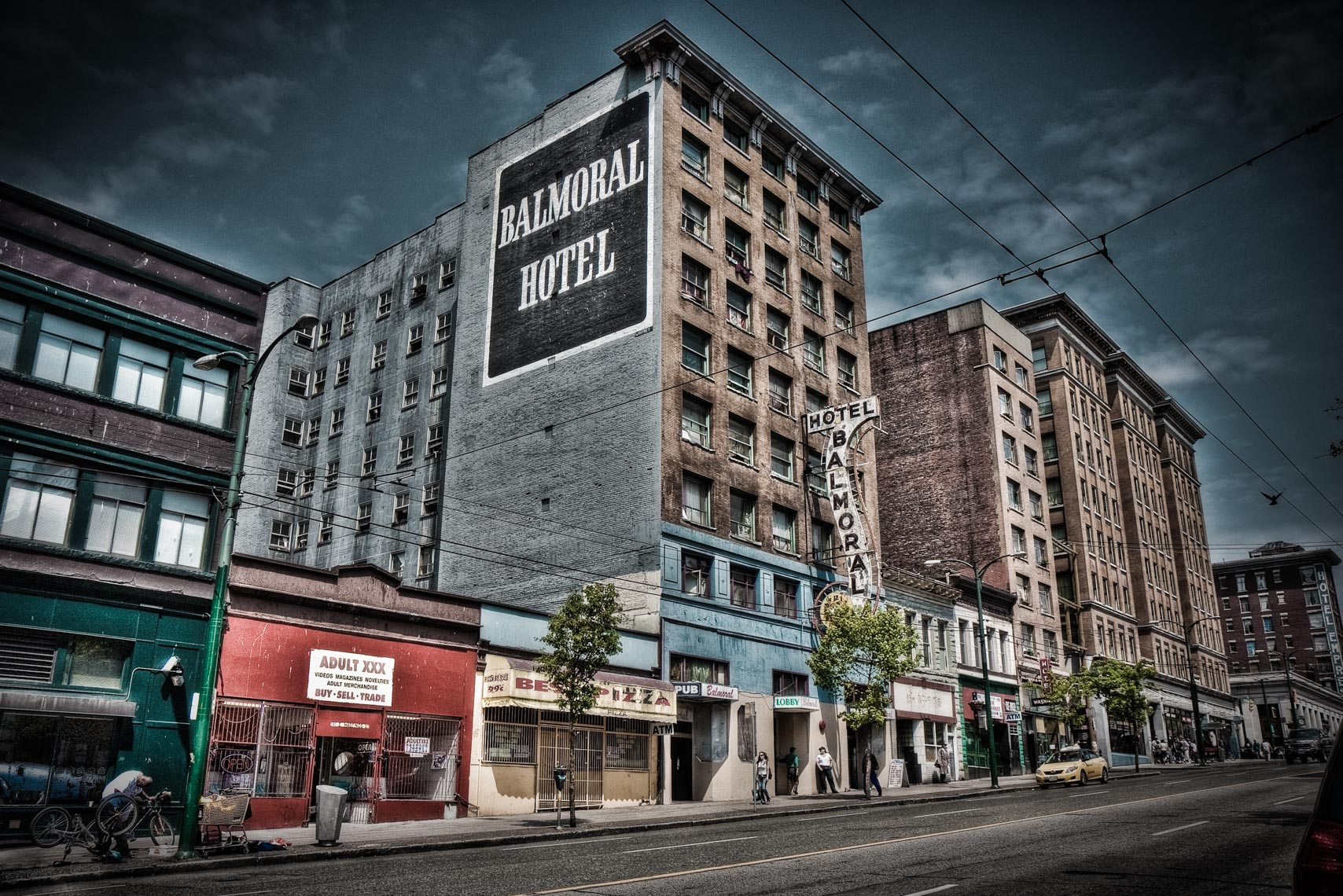 Balmoral Hotel, Vancouver Downtown Eastside